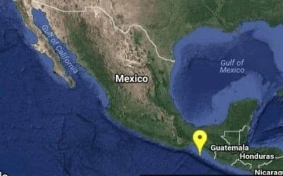Sismo de 5.2 grados se registra en Chiapas