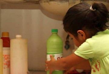 Pequeño de 1 año muere tras tomar veneno de una botella de yogurt