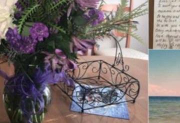 Antes de morir, padre pagó un arreglo de flores para cada cumpleaños de su hija