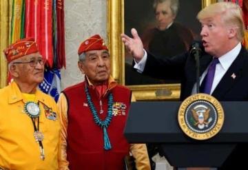 Donald Trump llama Pocahontas a senadora