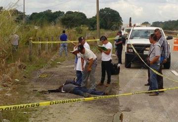 Encuentran a un hombre ejecutado de seis disparos