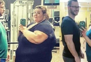 Decidieron bajar de peso; entre los dos han perdido 180 kilos