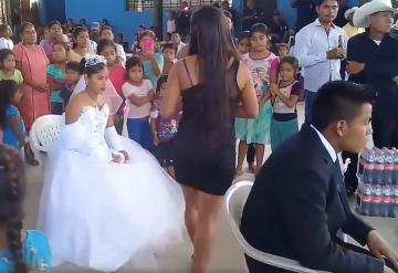 Circula el video de la boda más triste de México