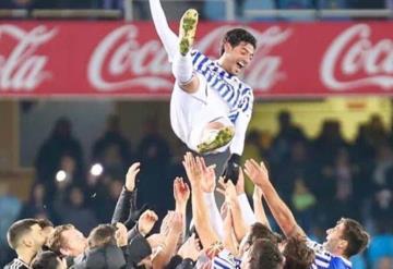 Carlos Vela se despide como Rey del Real Sociedad