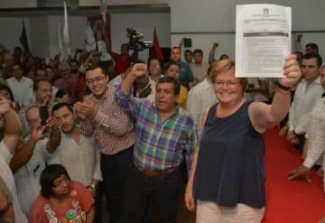 Promete Georgina Trujillo Zentella no más corrupción y seguridad