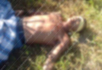 """""""Levantan"""", torturan y ejecutan a un hombre"""