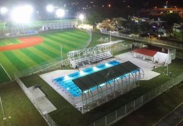 Inauguran la Unidad Deportiva de la colonia La Manga II