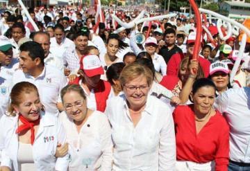 Gina Trujillo: Vamos a devolverle la seguridad y el desarrollo a Tabasco