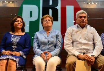 Sin escoltas la candidata del PRI para la gubernatura de Tabasco