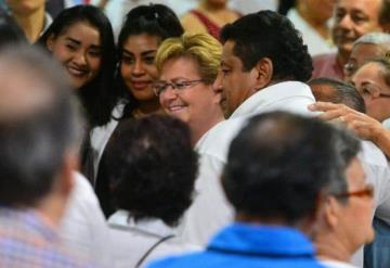 Georgina Trujillo busca unificar a los priistas en Tabasco