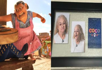 Abuelita de Miguel en Coco existe con todo y ¡chancla!