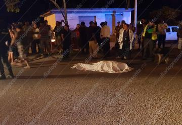 Humilde pescador muere atropellado en Periférico