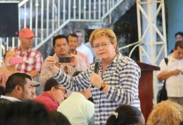 Gina Trujillo pide al priísmo cerrar filas para recuperar Cárdenas