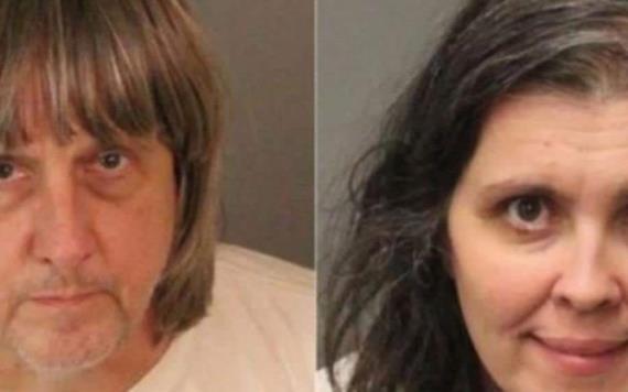 13 hermanos encadenados son rescatados en California