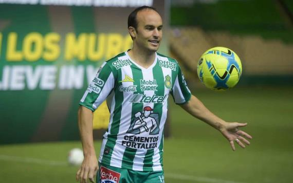 Landon Donovan será compañero del tabasqueño Mauro Lainez