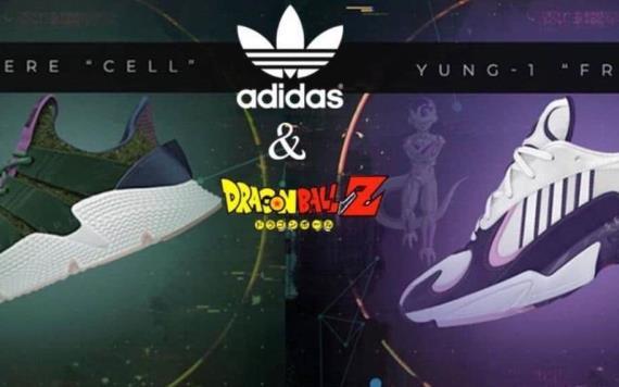 Adidas busca conquistar a los millennial con tenis de Dragon Ball