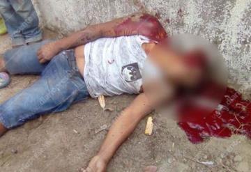 Sujeto es ejecutado en Cunduacán