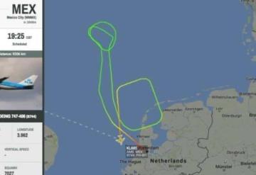 Avión que cubría ruta Ámsterdam-CDMX aterriza de emergencia