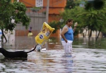 Activan Plan DN-III-E por fuertes lluvias en Tabasco