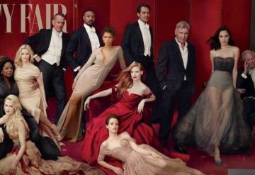 Se excede Vanity Fair con el photoshop en su portada sobre Hollywood
