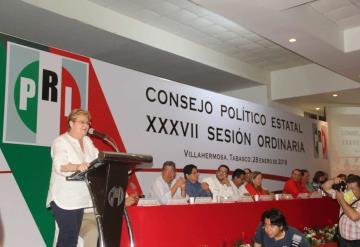 Tenemos los mejores cuadros y propuesta para impulsar el nuevo rumbo de Tabasco: Gina Trujillo