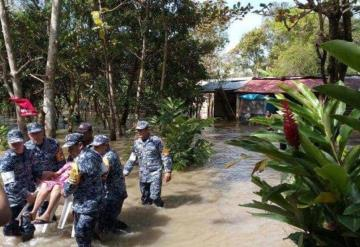 Lluvia da tregua en Tabasco pero se mantiene vigilancia en zonas afectadas