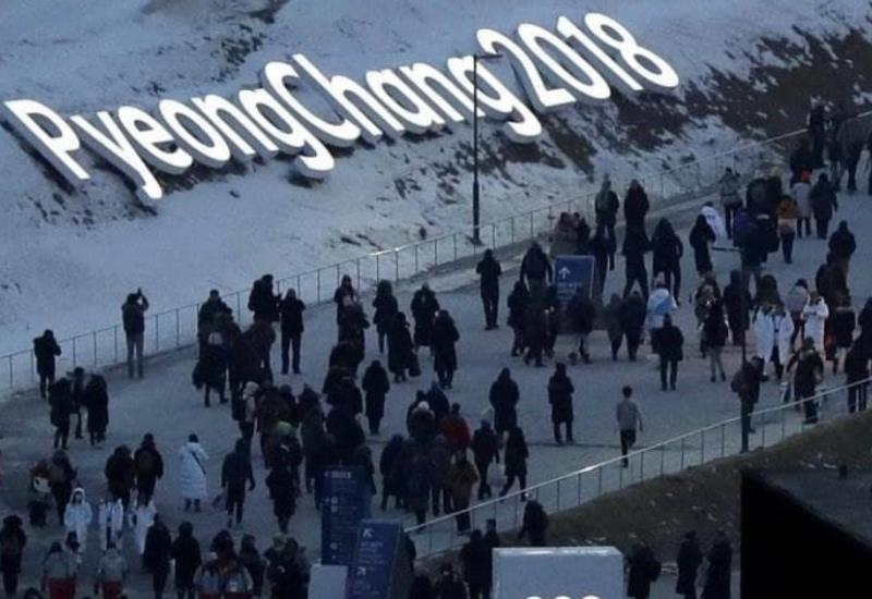 Inauguración de los Juegos Olímpicos de Invierno en imágenes
