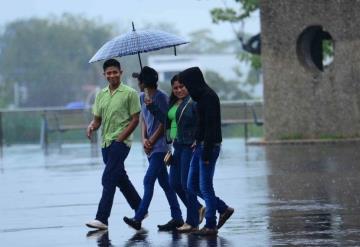 Anuncian lluvias para la tarde de este martes en Tabasco