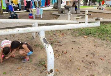 Dejan de ir a parques ante la delincuencia en Villahermosa