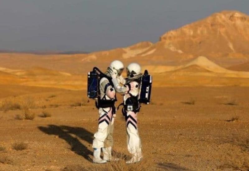 Fotogalería: Simulan vida en Marte en desierto israelí