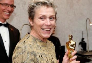 Recuperan el Oscar robado a Frances McDormand