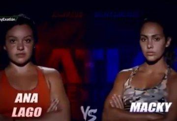 Primera semifinal de Exatlón; Ana Lago vs Macky