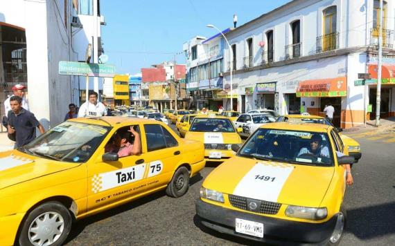 """SCT con base en la ley combate el """"pirataje"""" en servicio de taxis"""