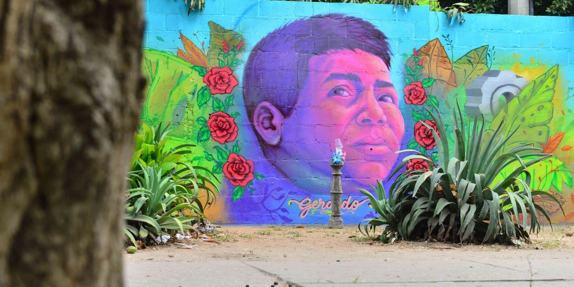 Secundaria Realizan Un Emotivo Mural Para Recordar Alumno En