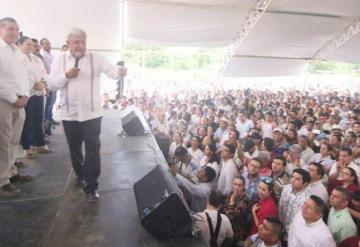 Adán Augusto López iniciará campaña en Tepetitán, Macuspana