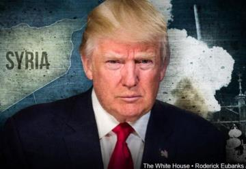 ¡Misión cumplida!, clama Trump tras los ataques contra objetivos en Siria