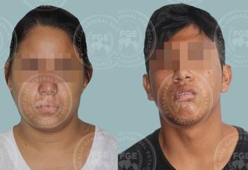 FGE detiene a  pareja acusada de trata de personas; en Villahermosa