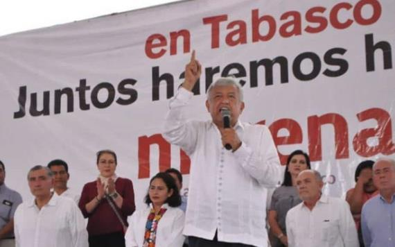 Regresa AMLO a Tabasco