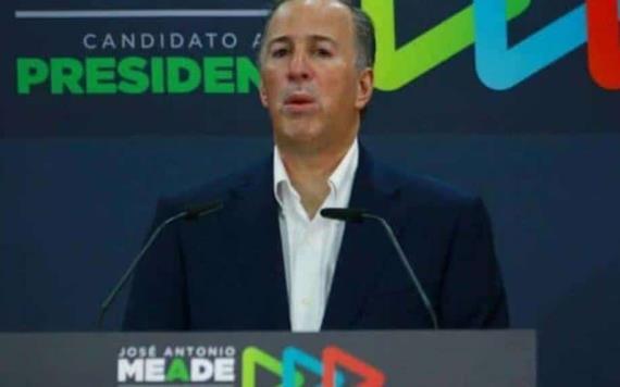 Llama Meade a sumarse a Armando Ríos Piter a su campaña presidencial