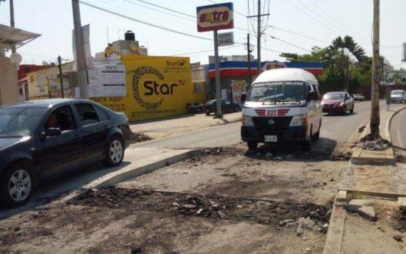 Obras Públicas autorizó la rampa peatonal en la carretera Villahermosa- La Isla