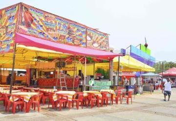Pocos restaurantes estarán en la Feria