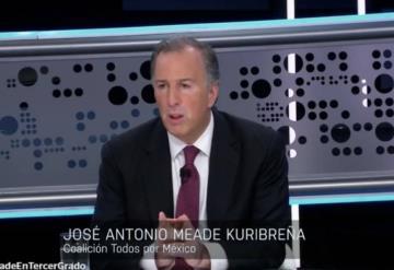 Frases que marcaron la participación de José Antonio Meade en Tercer Grado