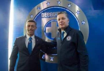 Presentan a Ricardo Peláez como director deportivo de Cruz Azul