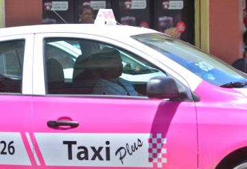 Sin mujeres taxis rosa