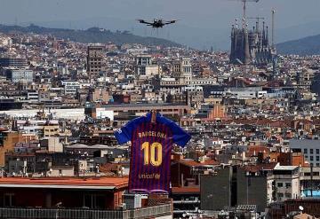 Presentan la nueva playera del Barcelona