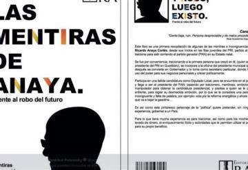 Lanza Morena libro Las mentiras de Anaya