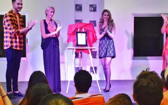 Ingrid Martz madrina de lujo en ´Teatro en 30´ en Villahermosa