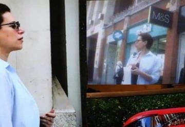 Vecinos de Karime Macías en Londres reaccionan ante la verdad
