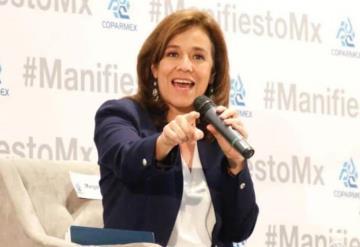 Margarita Zavala no descarta creación de partido político