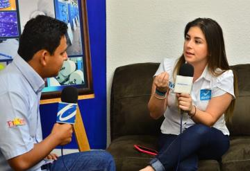 Ximena Salazar le apuesta a la Curul App